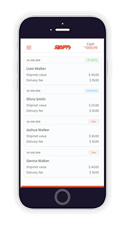 uber for courier Uber for courier for on demand delivery services by Appscrip