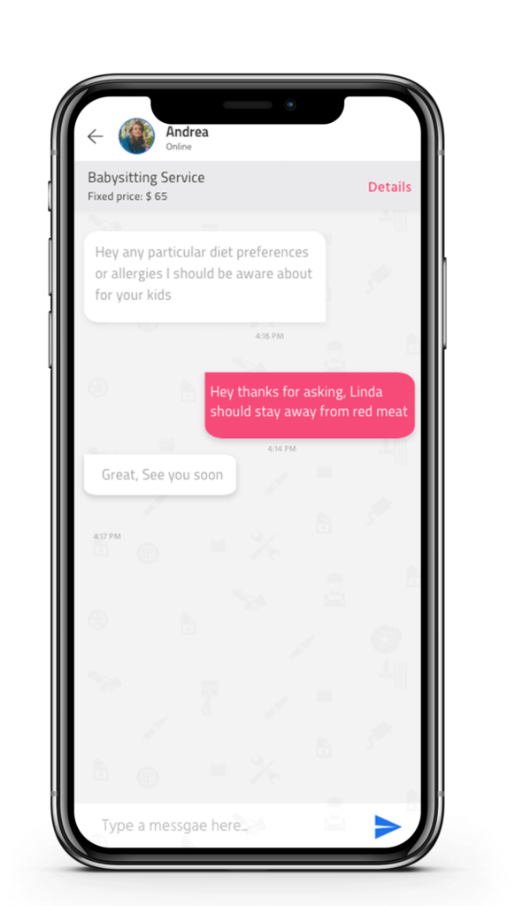 Uber for babysitters Crèche | Uber for Babysitters | On-Demand Childcare Booking Software