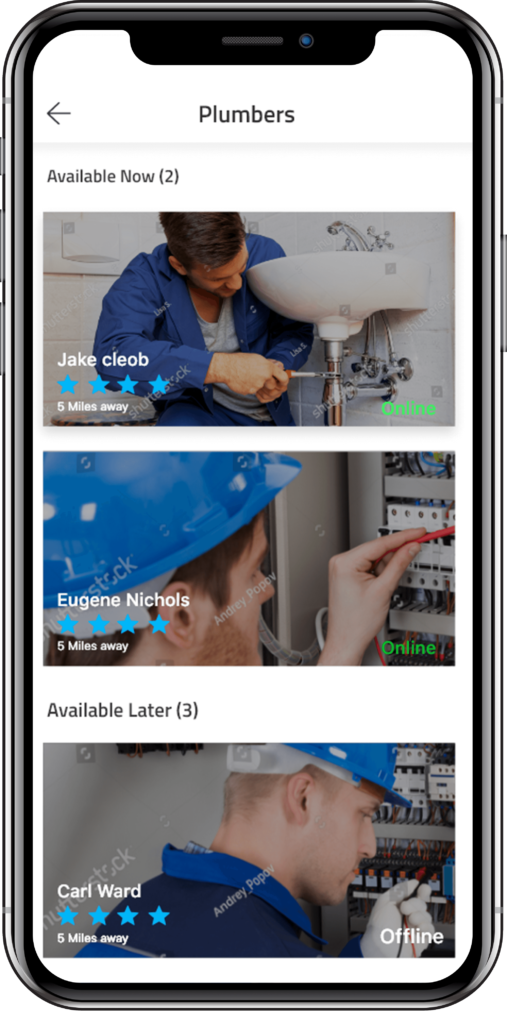 Handyman Clone App Handyman Clone App - For the On Demand Service Industry