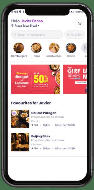 DoorDash Clone DoorDash Clone Script - GrubDash - Food Delivery Software