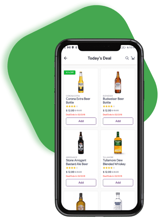 Liquor delivery on gojek clone script