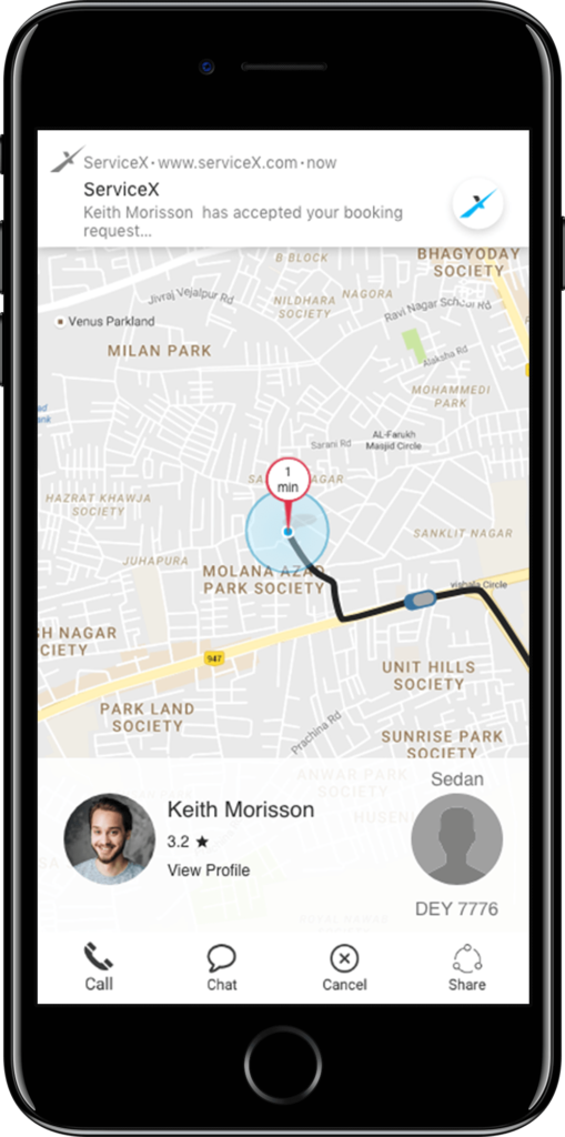 uber for x platform ServicAce: Uber for X Platform & On Demand Services Solution