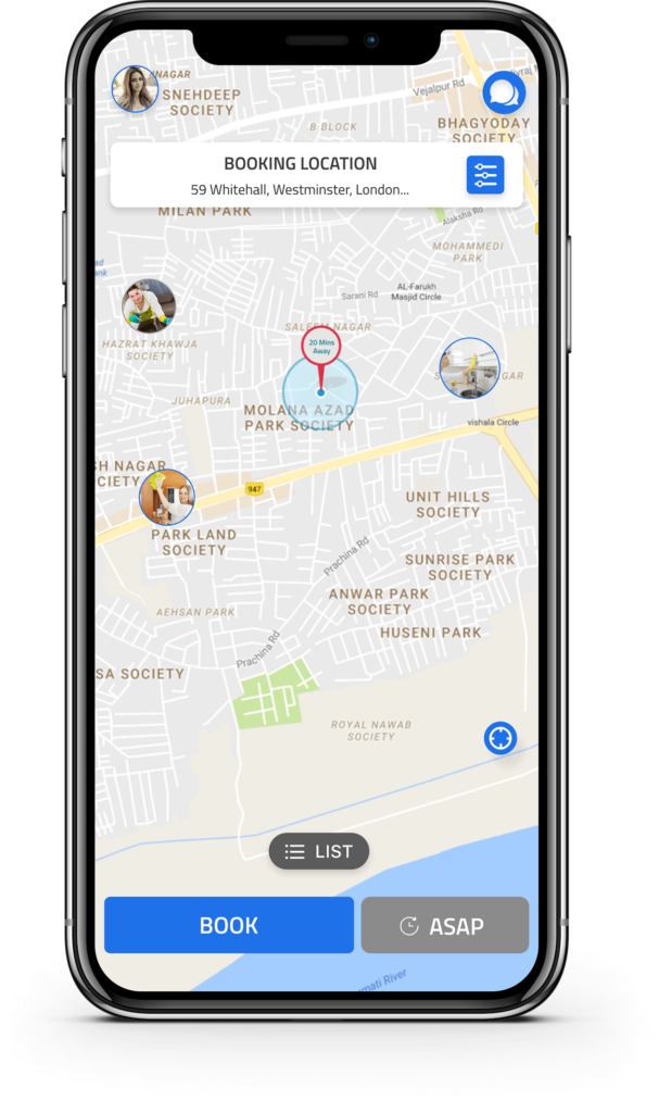 uber for maids Uber for Maids - Uber for House Cleaning - Maid Booking App
