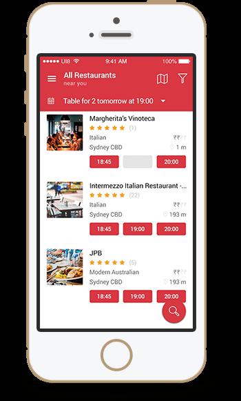 opentable clone script OpenTable Clone Script | Restaurant Reservation App