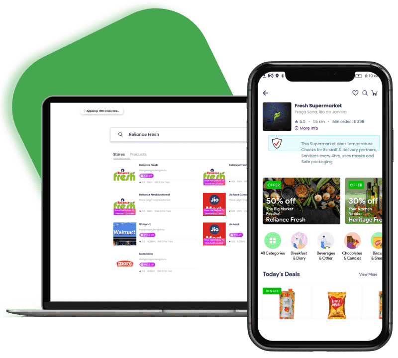 online grocery delivery with gojek clone