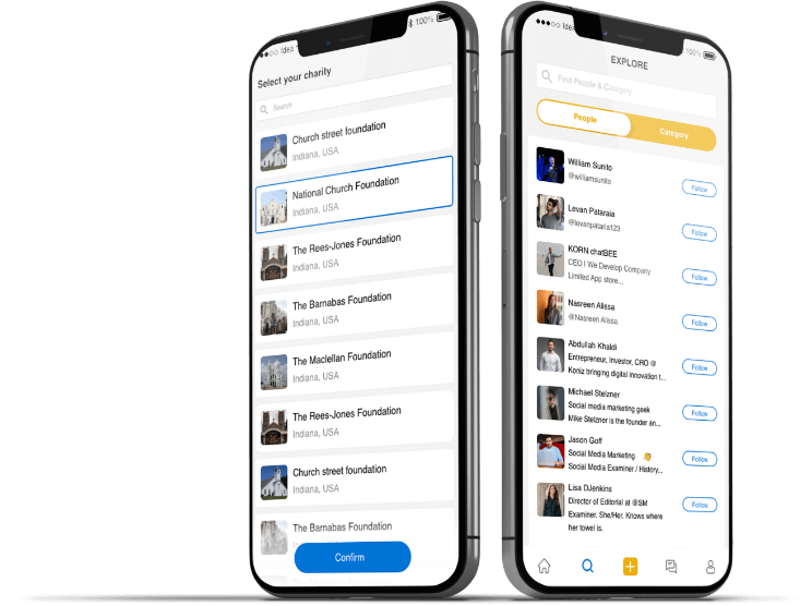 Clubhouse-clone-app-primary features