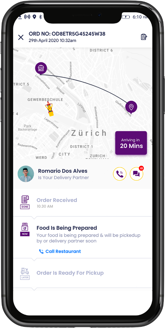 postmates clone Postmates Clone - Start your own Uber for food delivery with iDeliver
