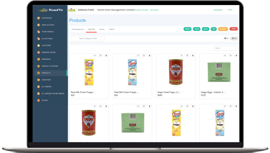 Shipt app clone grocery store dispatcher software