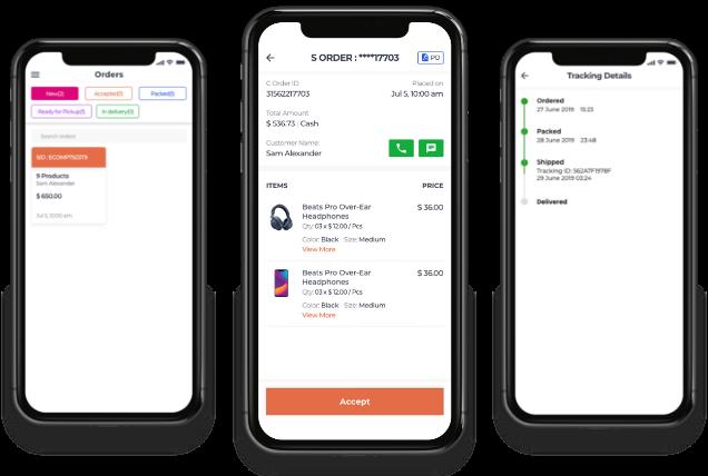 Store App of gojek clone