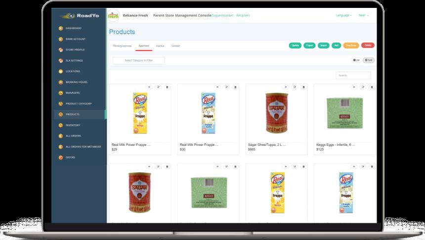 Walmart clone grocery store dispatcher software