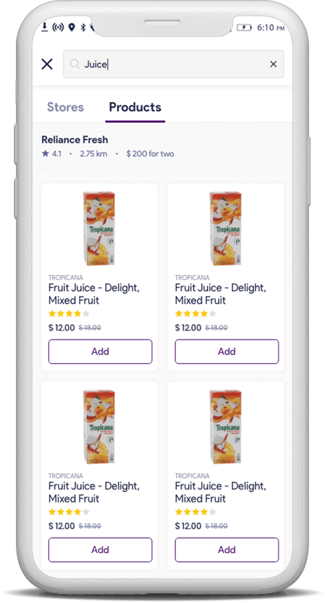 grocery delivery on ridesharing app