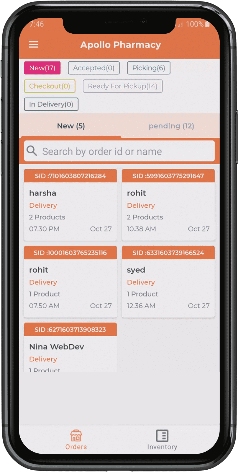 new-order-section-in-medicine-delivery-picker-app.png