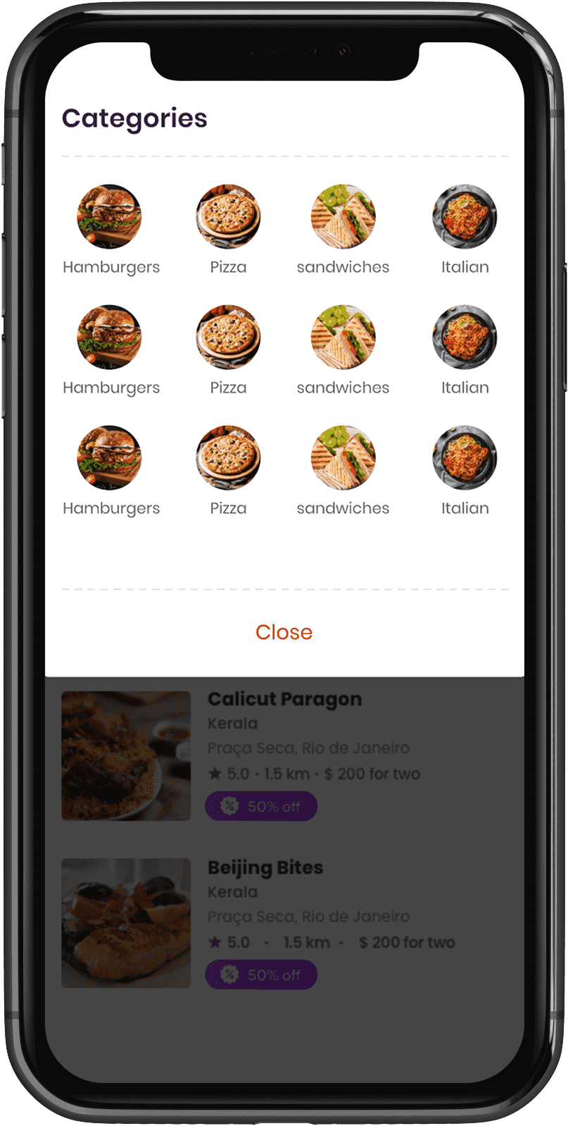 select-food-categories-in-food-delivery-customer-app