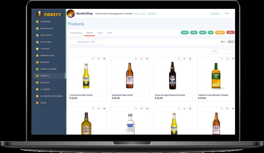 Thirstie clone Thirstie Clone - Cash Generating Liquor Delivery Script