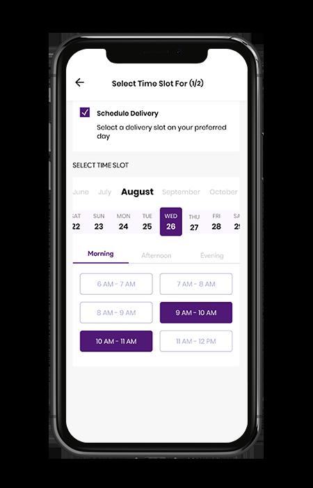 Medicine Delivery Schedule Deliveries