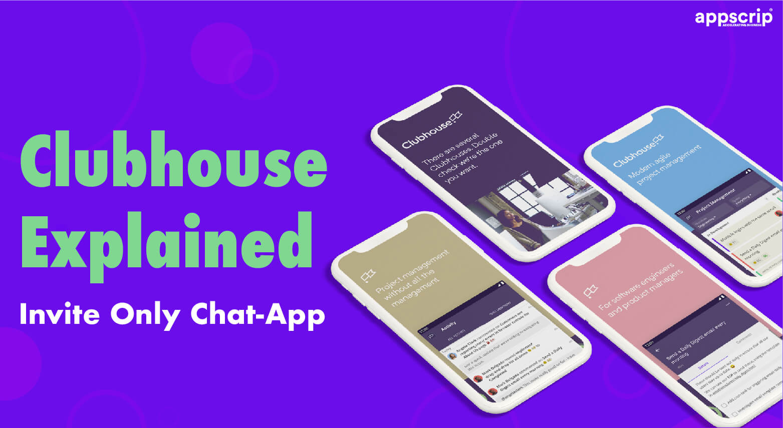 clubhouse clone Clubhouse Clone, Build An Audio-Based Social Media App