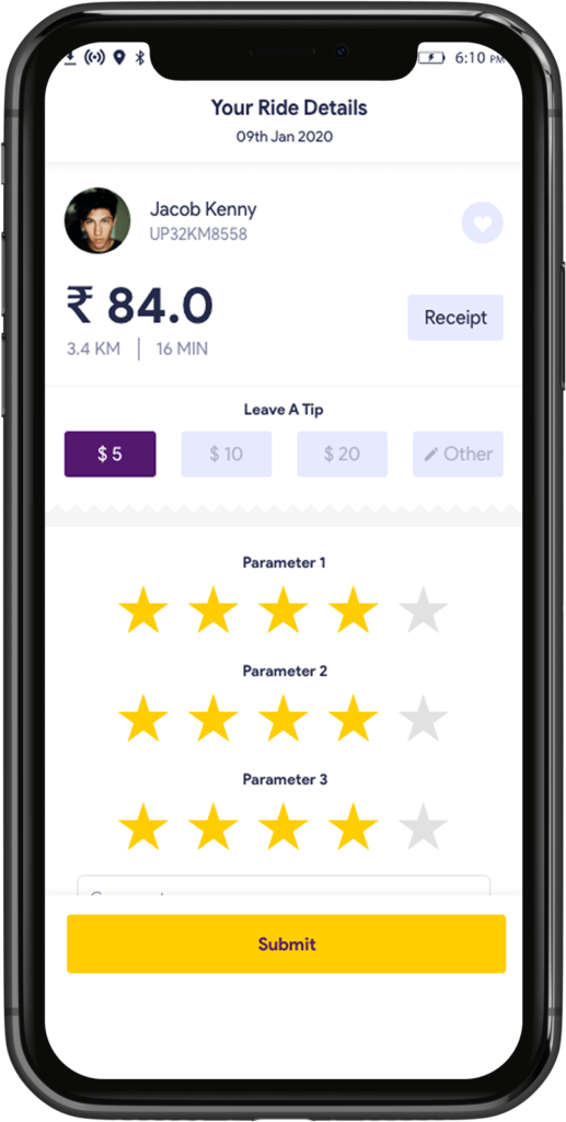 Transport Booking Software Rating and reviews