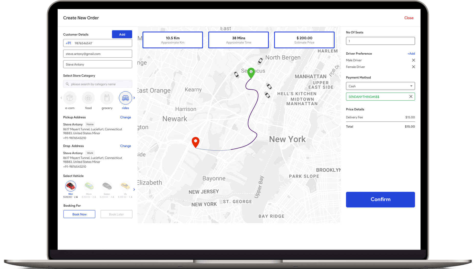 uber clone script Uber CLone Script - Uber Clone White Label Online Taxi Dispatch Software
