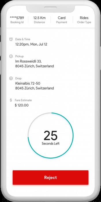 driver app of uber clone australia