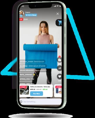 live stream ecommerce customer app