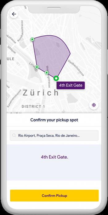mapping on uber clone Nigeria